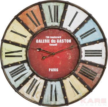 Стенен часовник Gallery Colore 31864