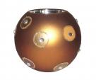свещник топка с орнаменти
