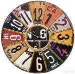 Стенен часовник Badge 33999