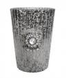 свещник чаша - старо сребро