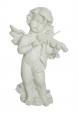 ангелче фигура със цигулка