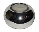 свещник стъклен сребро 2